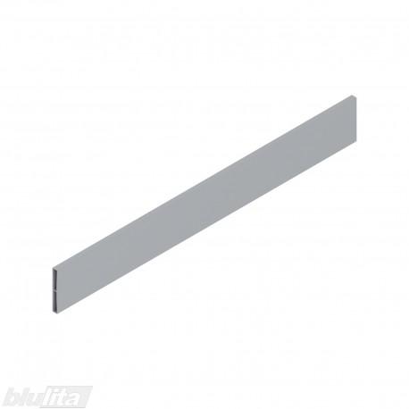 TANDEMBOX antaro dizaino elementas NL 500mm, Caukštis, metalas, pilkos spalvos, simetriškas