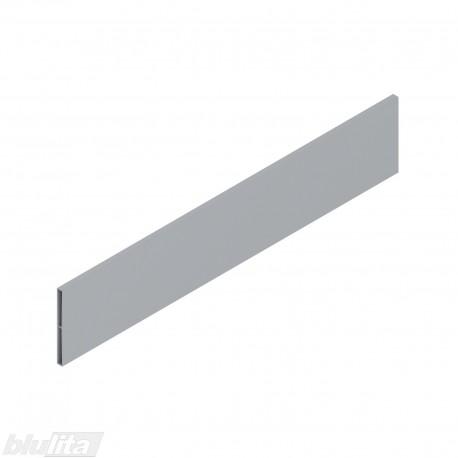 TANDEMBOX antaro dizaino elementas NL 500mm, Daukštis, metalas, pilkos spalvos, simetriškas