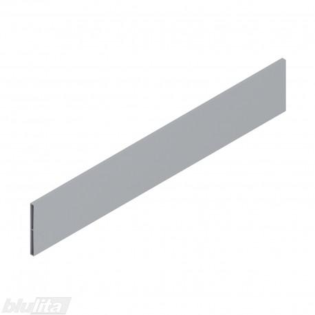 TANDEMBOX antaro dizaino elementas NL 550mm, Daukštis, metalas, pilkos spalvos, simetriškas