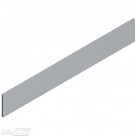TANDEMBOX antaro dizaino elementas NL 650mm, Daukštis, metalas, pilkos spalvos, simetriškas