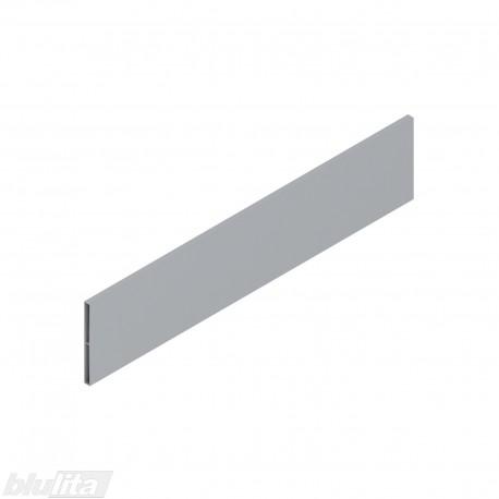 ANTARO stalčių šonų paaukštinimas, aliuminis, aukštis D (91,5mm), 450 mm PILKAS