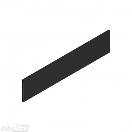 """TANDEMBOX antaro dizaino elementas NL 450mm, Daukštis, metalas, juodos """"Terra"""" spalvos, simetriškas"""
