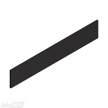"""TANDEMBOX antaro dizaino elementas NL 550mm, Daukštis, metalas, juodos """"Terra"""" spalvos, simetriškas"""
