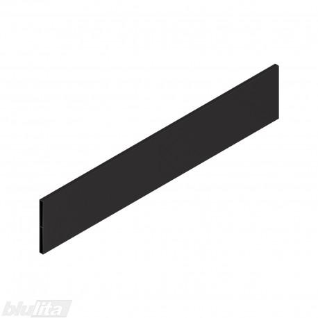 """TANDEMBOX antaro dizaino elementas NL 500mm, Daukštis, metalas, juodos """"Terra"""" spalvos, simetriškas"""
