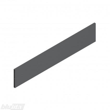 """TANDEMBOX antaro dizaino elementas NL 500mm, Daukštis, metalas, tamsiai pilkos """"Orion"""" spalvos, simetriškas"""