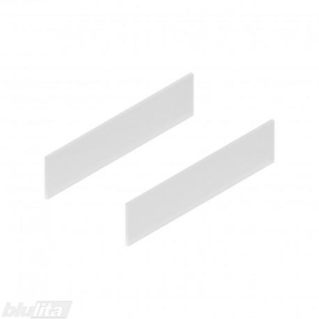 TANDEMBOX antaro dizaino elementai NL 400mm, Daukštis, matinis stiklas, pora