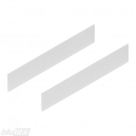 TANDEMBOX antaro dizaino elementai NL 550mm, Daukštis, matinis stiklas, pora