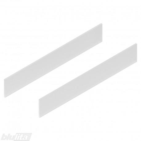 TANDEMBOX antaro dizaino elementai NL 600mm, Daukštis, matinis stiklas, pora