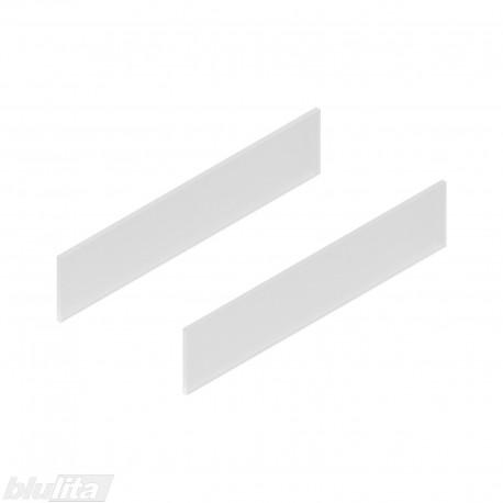 TANDEMBOX antaro dizaino elementai NL 450mm, Daukštis, matinis stiklas, pora