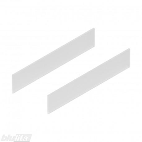 TANDEMBOX antaro dizaino elementai NL 500mm, Daukštis, matinis stiklas, pora