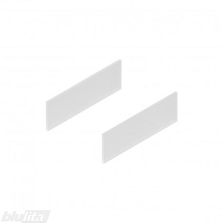 TANDEMBOX antaro dizaino elementai NL 300mm, Daukštis, matinis stiklas, pora