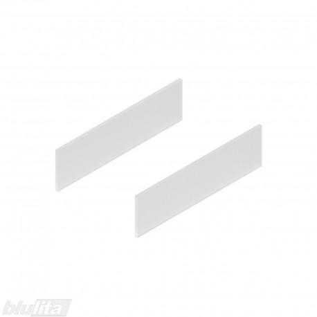TANDEMBOX antaro dizaino elementai NL 350mm, Daukštis, matinis stiklas, pora