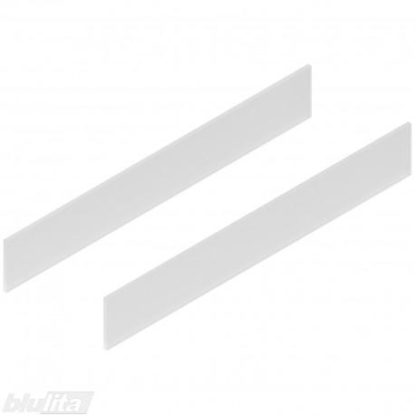 TANDEMBOX antaro dizaino elementai NL 650mm, Daukštis, matinis stiklas, pora