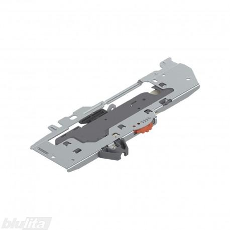 TANDEMBOX TIP-ON BLUMOTION mechanizmas, sistemos galia 15‑40kg., bėgelių ilgis 350‑650mm, tipasL3, kairys
