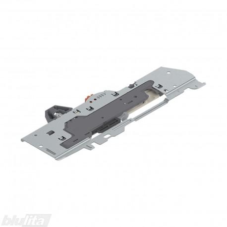 TANDEMBOX TIP-ON BLUMOTION mechanizmas, sistemos galia 30‑65kg., bėgelių ilgis 350-650mm, tipasL5, dešinys