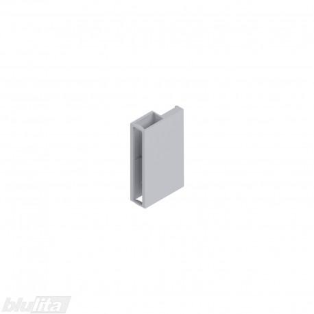 TANDEMBOX antaro dizaino elemento galinis laikiklis, Caukštis, pilkos spalvos, dešinys
