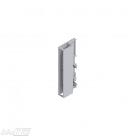 TANDEMBOX ANTARO šoninio intarpo galinis laikiklis D, PILKAS, kairys