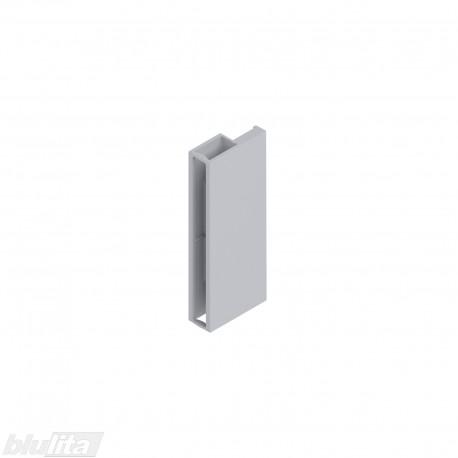 TANDEMBOX antaro dizaino elemento galinis laikiklis, Daukštis, pilkos spalvos, dešinys