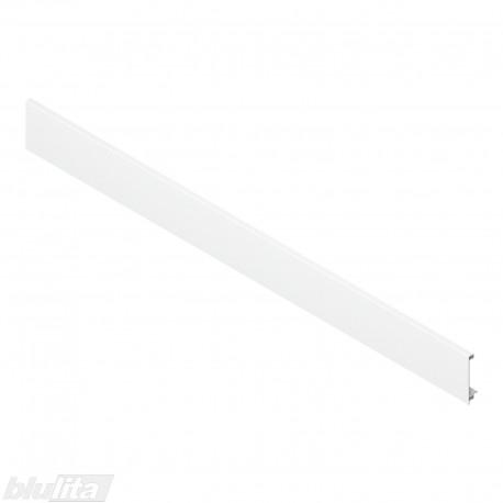 """LEGRABOX vidinio stalčiaus fasado profilis, ilgis1043 mm, be įlaidos, baltos """"Silk"""" spalvos, simetriškas"""