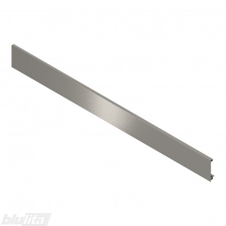 LEGRABOX vidinio stalčiaus fasado profilis, ilgis1043 mm, be įlaidos, nerūd. plieno spalvos, simetriškas
