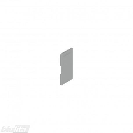 """LEGRABOX stalčių šonų dangtelis su Blum logotipu, vidinis, sidabrinės """"Polar"""" spalvos, simetriškas"""