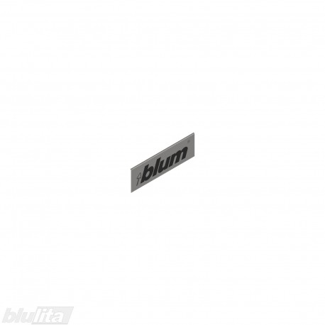"""LEGRABOX stalčių šonų dangtelis su Blum logotipu, išorinis, nerūd. plieno """"Inox"""" spalvos, simetriškas"""
