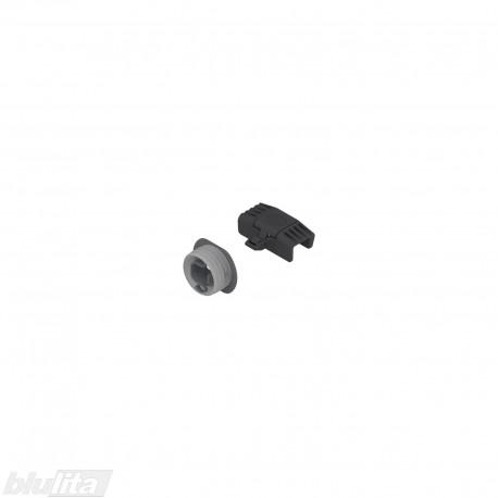LEGRABOX rankenėlė vidiniam M stalčiui, su fiksacija, juodos spalvos