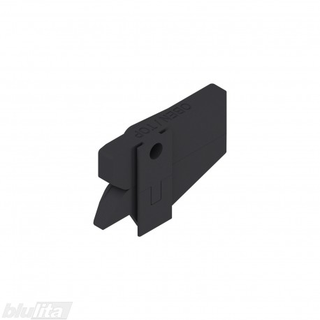 CABLOXX užrakto mechanizmas, dešinys, juodos spalvos