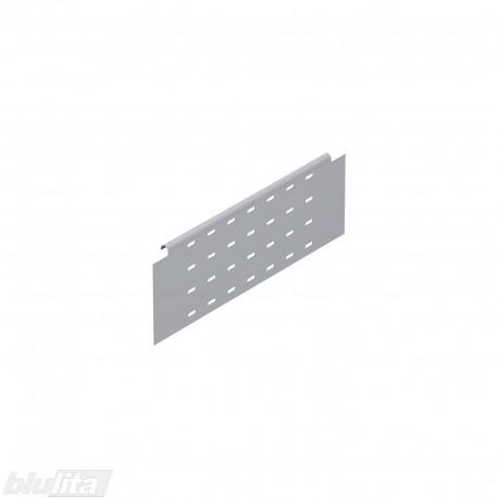 TANDEMBOX plus stalčiaus šono paaukštinimas BOXSIDE NL400mm, Daukštis, vienasienis, pilkos spalvos, simetriškas