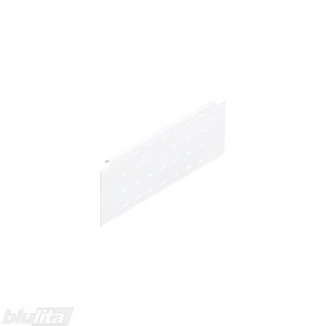 TANDEMBOX plus stalčiaus šono paaukštinimas BOXSIDE NL400mm, Daukštis, vienasienis, baltos spalvos, simetriškas