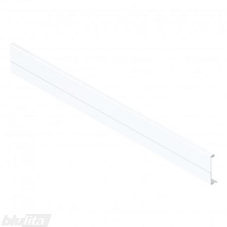 TANDEMBOX plus vidinio stalčiaus fasado profilis, ilgis 1081mm, baltos spalvos, simetriškas