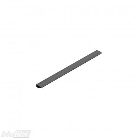"""METROPOLIS dėklo galinė tarpinė, 900mm pločio TANDEMBOX stalčiams, ilgis 392mm, pilka """"Basalt grey"""""""