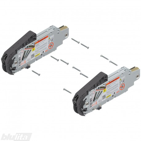 """AVENTOS HS pakėlimo mechanizmai, kai korpuso aukštis 676–800 mm, svoris 10,5–20 kg, lygis """"I"""", 2 vnt."""