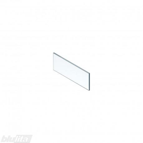LEGRABOX vidinio stalčiaus aukštas dizaino elementas, 450 mm pločio fasadui, skaidrus stiklas