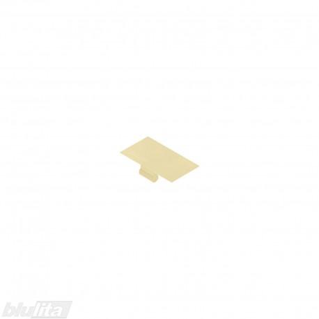 Lentyninės sąvaržos (40.4001) dangtelis su logotipu Blum, kreminės spalvos