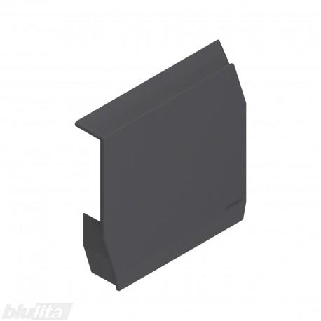 AVENTOS HK-S mechanizmo dangtelis, tamsiai pilkos spalvos, kairys