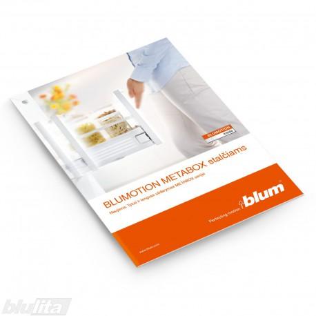 Brošiūra – BLUMOTION METABOX stalčiams