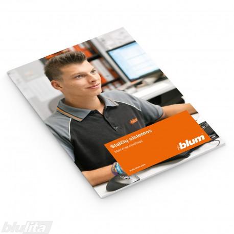 Brošiūra – Stalčių ir bėgelių sistemos – mokomoji medžiaga