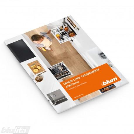Brošiūra – ORGA-LINE TANDEMBOX stalčiams