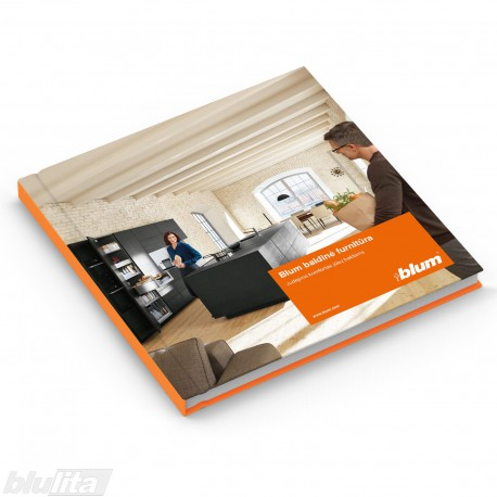 Brošiūra – Blum baldinė furnitūra – judėjimo komfortas Jūsų baldams