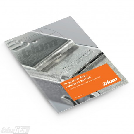 Brošiūra – Originalios Blum furnitūros kokybė