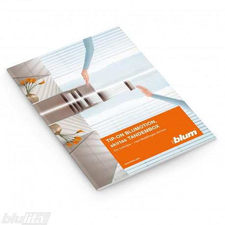 Brošiūra – TIP-ON BLUMOTION skirtas TANDEMBOX