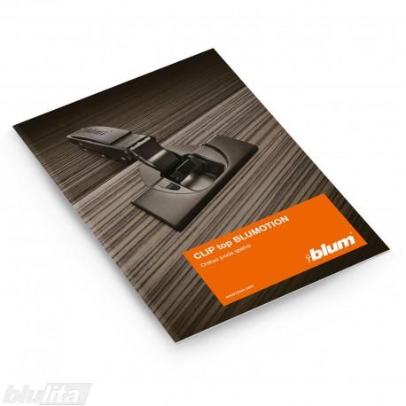 Brošiūra – Juodas CLIP top BLUMOTION