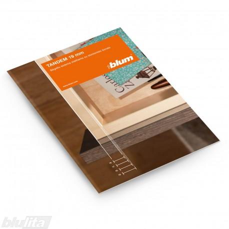 Brošiūra – TANDEM 19 mm