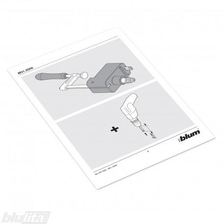 Instrukcijos – M31.2000 šablonas