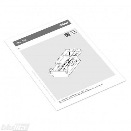 Instrukcijos – ZML.7000 šablonas