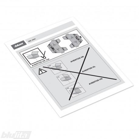 Instrukcijos – ZML.2200 šablonas