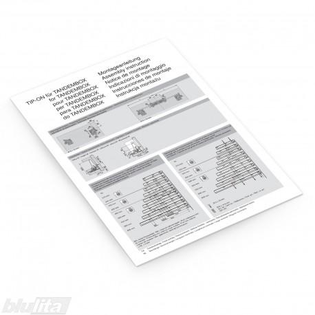 Instrukcijos – TIP-ON skirtas TANDEMBOX montavimas
