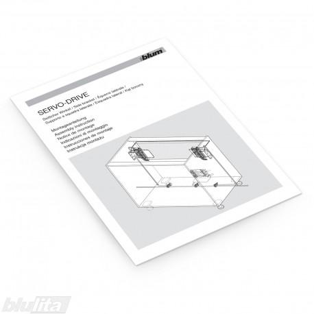 Instrukcijos – SERVO-DRIVE skirtas TANDEMBOX ir TANDEM su horizontaliu laikančiuoju profiliu