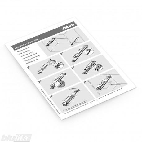 Instrukcijos – LEGRABOX šoninis stabilizatorius